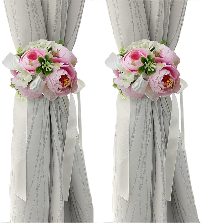 1 Pair Elegant Superior Flower online shopping Curtain Wed Rope Tieback