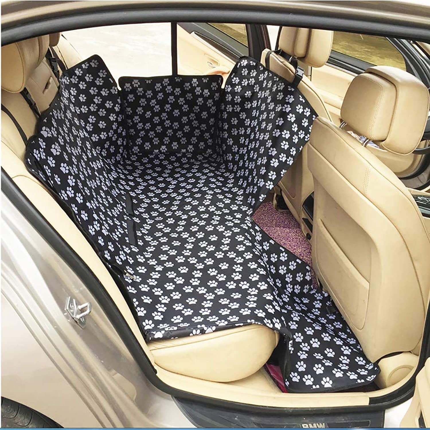 Dog Seat Cover  AntiDirty Waterproof Wear Pad Car Rear Seat Pet Hammock for Cars Trucks SUVs