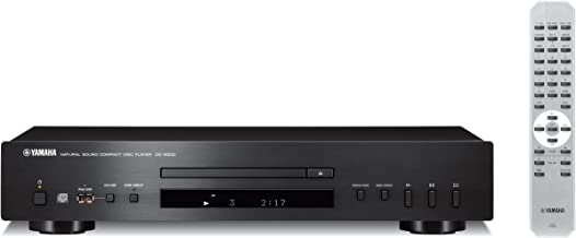 Yamaha CD-S300 - Reproductor de CD, MP3, WMA, USB, color negro