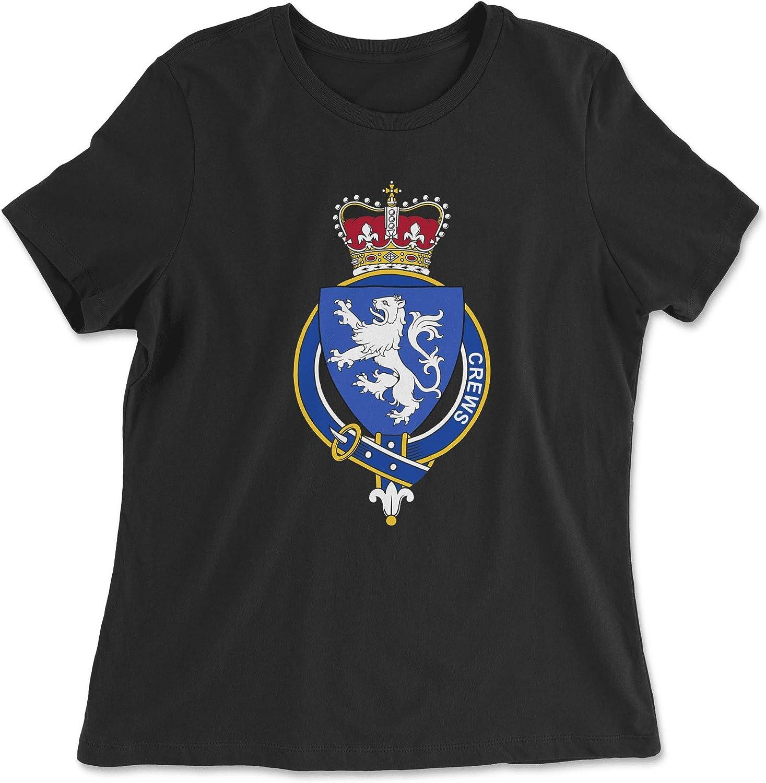HARD EDGE DESIGN Women's English Garter Family Crews T-Shirt