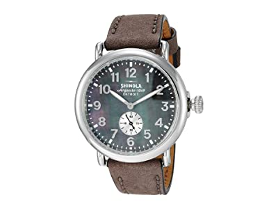 Shinola Detroit The Runwell 41mm 20109243 (Heather/Gray Mother-of-Pearl) Watches