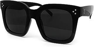 1762 Premium Oversize XXL Women Men Style Fashion Mirror Tint Sunglasses