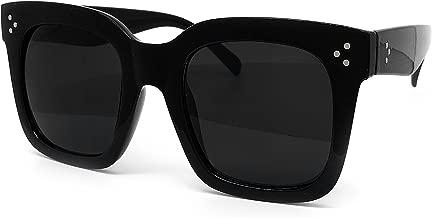 O2 Eyewear 1762 Premium Oversize XXL Women Men Mirror Havana Tilda Shadow Style Fashion Sunglasses
