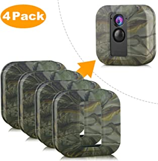 Blink XT Case, Silicone Skin for Blink XT Outdoor Home Security Camera UV and Water-Resistant, Indoor Outdoor Blink XT Protecting Case, 4 Pack, Camouflage