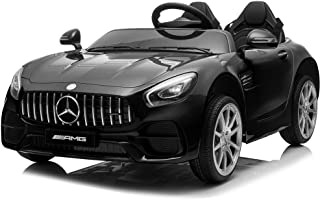 Kidzone 12V 45W 2 Seater Licensed Mercedes-Benz AMG GT Kids Ride On Car Electric Powered Vehicle High/Low Speed W/2.4G Rem...