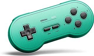 8Bitdo Sn30 Bluetooth Gamepad for Nintendo Switch,Windows,macos,Android,Raspberry Pi (GP Green Edition)