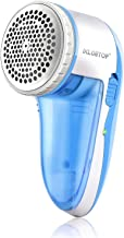 Rechargeable Lint Remover & Fabric Shaver,Removable Bin & Replaceable Stainless Steel Blade,Electric Fabric Defuzzer, Dual Protection