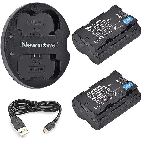 Newmowa Ersatz Akku Np W235 Und Tragbar Micro Usb Dual Kamera