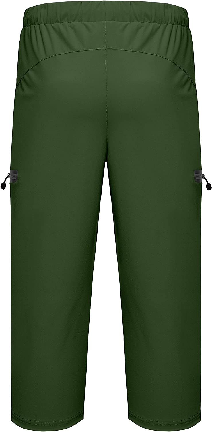 Little Donkey Andy Men's Ultra-Stretch Lightweight Quick Dry Athletic Pants Drawstring Travel Exercise Running Jogging : Sports & Outdoors