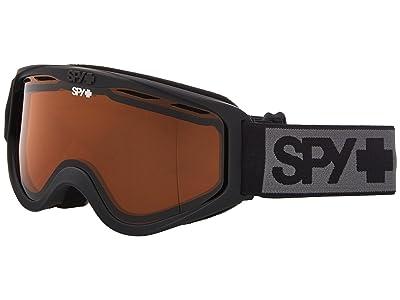 Spy Optic Cadet (Matte Black/Persimmon) Goggles