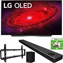 $2593 » LG OLED55CXPUA 55-inch CX 4K Smart OLED TV with AI ThinQ (2020) Bundle SN10YG 5.1.2 ch High Res Audio Sound Bar + TaskRabbit Installation Services + Vivitar Low Profile Flat TV Wall Mount