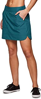 RBX Active Women's Golf/Tennis Everyday Casual Athletic Skort with Biker Shorts