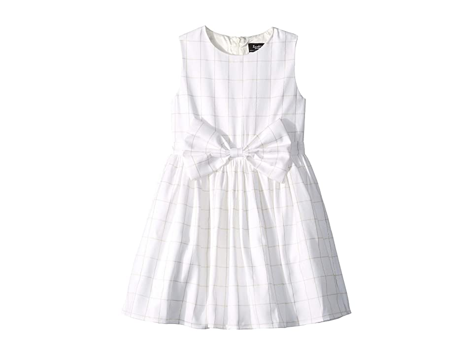 Bardot Junior Check Bowie Dress (Big Kids) (Orchid White) Girl