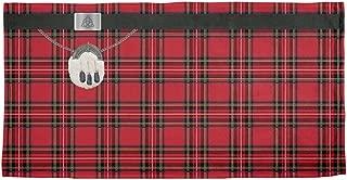 Old Glory St. Patricks Day - Kilt Royal Stewart Scottish Red Plaid Costume Beach Towel