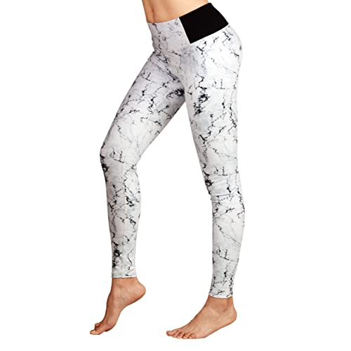 028f9750d3a DOVPOD Printed Yoga Pants High Waist Fitness Plus Size Workout Leggings  Tommy Control Capris for Women
