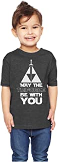 May The Triforce Be with You Zelda Unisex Toddler Shirt