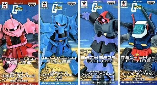 Venta en línea de descuento de fábrica Gundam series MEC Saga figure Vol.3 [all four set] Mobile Mobile Mobile Suit Gundam  alta calidad