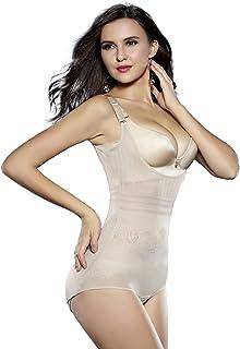 9af0de8c2b Sunzel Women s Body Briefer Smooth Wear - Your Own Bra Slimmer Shapewear  Bodysuits