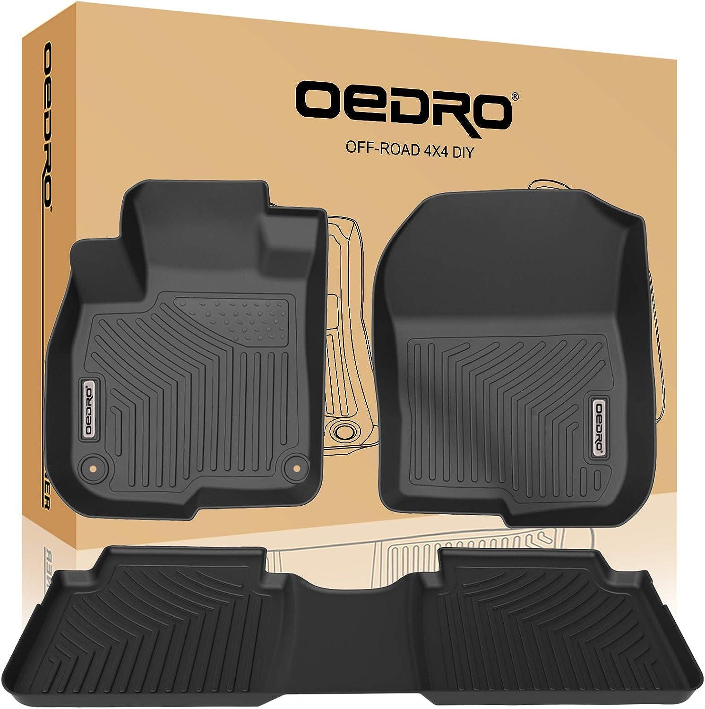 100% quality warranty! OEDRO Floor Mats Compatible for Bla 2017-2021 CR-V Superior Unique Honda