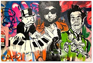 Funny Ugly Christmas Sweater ALEC Monopoly HD Printed Oil Paintings Home Wall Decor Art Poster Piano Monopoly Art ALEC Monopoly Poster Wall Art Printed Art Picture 32