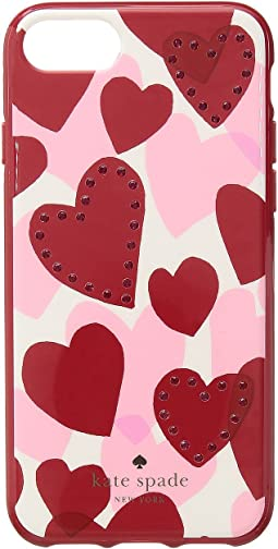 Kate Spade New York - Jeweled Heart Phone Case for iPhone® 7/iPhone® 8