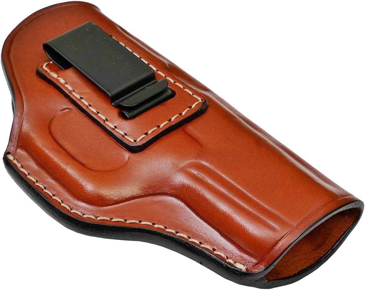 IWB Leather Holster for Max 68% OFF Chicago Mall Kimber - Bro Genuine 9mm Micro