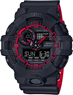 Casio G-Shock Men s Dial Resin Band Watch - GA700SE-1A4