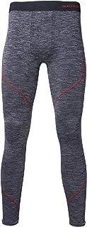 Sundried Mens Premium Gym Training Leggings - Running Fitness Tights