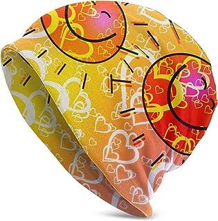 Mjh Teddy Bear Heart Love - Gorro unisex de punto con diseño de calavera
