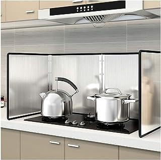 Plaque Anti Projection Cuisine Protection Poêle Preuve pliable d'éclaboussure d'huile de plat de déflecteur de cuisson d'a...