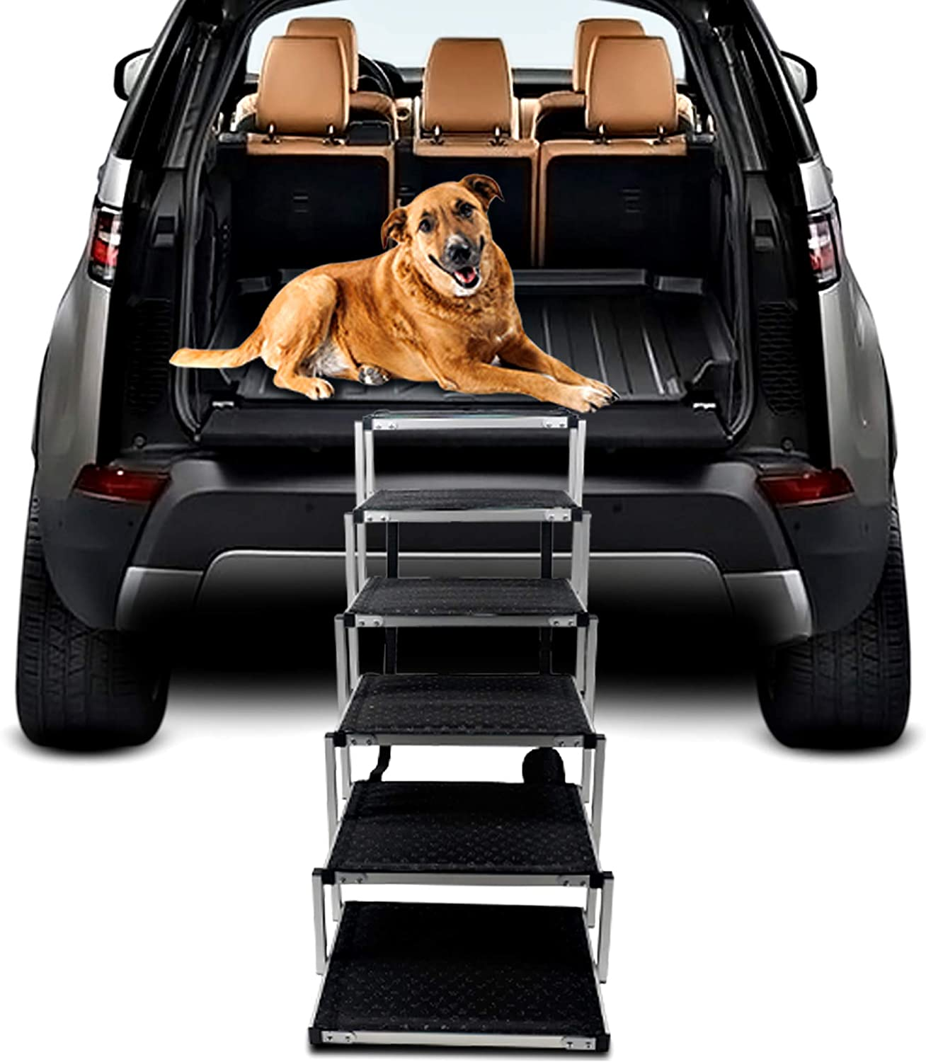 Dog Steps for All items free store shipping Large Aluminum Lightweight Foldable Portable
