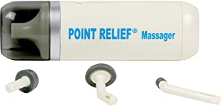 Point Relief Mini-Massager Battery-Powered for Pain Relief, Tension Relief and Massage Therapy