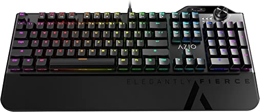 Azio MGK L80 Mechanical Gaming Keyboard (Brown K-Switch/RGB Backlight) MGK-L80-01
