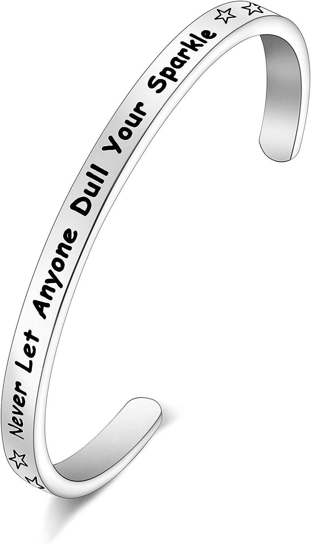FEELMEM Graduation Gifts Bracelet for Newly Graduates Let Anyone