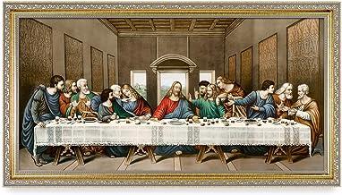 DECORARTS – 'The Last Supper' by Leonardo da Vinci. Oil Painting Reproduction,..