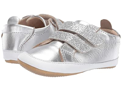 Old Soles Bambini Glam (Infant/Toddler) (Silver/Glam Argent) Girl
