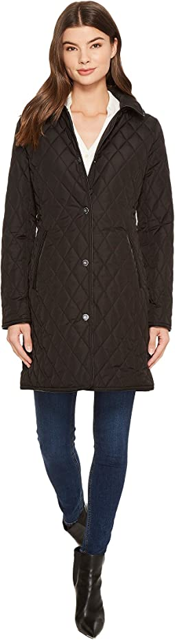 LAUREN Ralph Lauren 3/4 Hooded Quilt