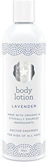 Baja Baby Organic Lavender Lotion - EWG Baby Lotion - All Natural, Vegan, Gluten Free Gentle Body Lotion With Essential Oils - Safe, Calming Massage Lotion For Newborns - Gentle For Sensitive Skin