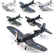 Kvvdi 6-pc Set 1/48 Scale Vought F4U Corsair WWII Plane Fighter Model