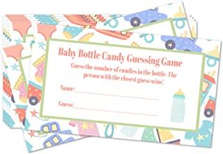 Baby Bottle Candy Guessing Game Card Expansion Pack