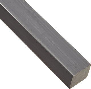 24 Length Opaque Gray 2-3//8 Leg Lengths Squared Corners NSF 61 Equal Leg Length PVC Angle 0.275 Wall Thickness Polyvinyl Chloride