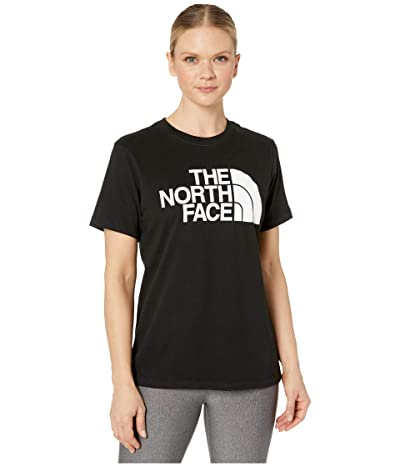 The North Face Half Dome Cotton Short Sleeve Tee (TNF Black) Women