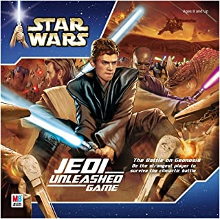 Milton Bradley Star Wars Jedi Unleashed Game