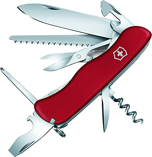 Victorinox V08513.B1 Couteau Suisse Mixte Adulte, Rouge, S
