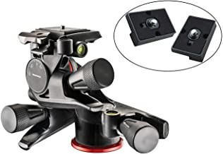 Manfrotto MHXPRO-3WG XPRO Geared Head with Two Calumet Quick Release Plates for The RC2 Rapid Connect Adapter (Renewed)