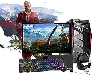 """PC Gamer Completo Intel Core i5, 16GB RAM DDR3, SSD 480GB, GT 710 2GB, Monitor 19"""", WiFi, Headset, Teclado e Mouse"""