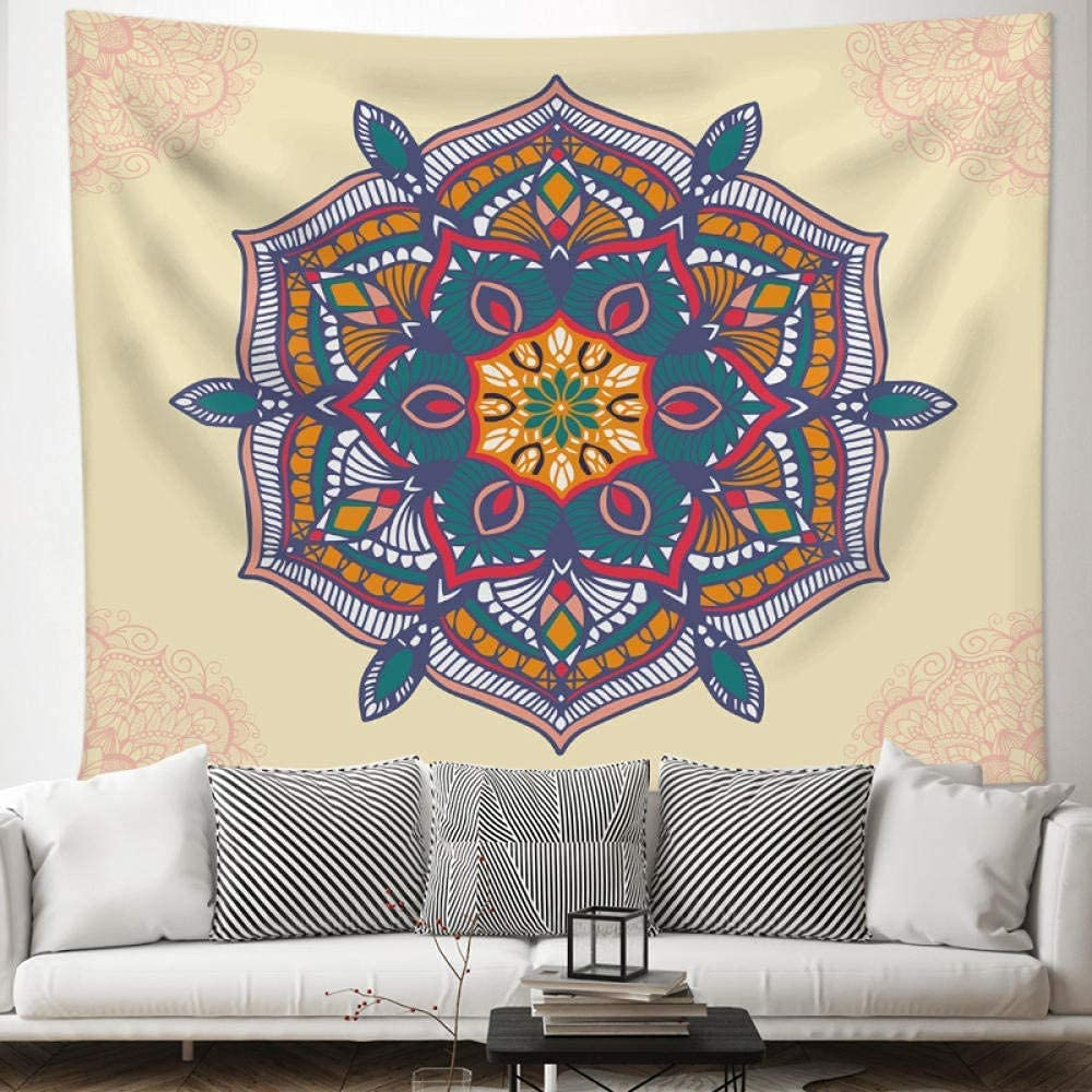 WSND Tapestries Mandala Background Cloth Max 84% OFF Super special price Aes Tapestry Boho Style