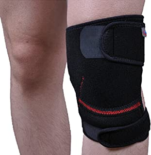 Kylin Express Set of 2 Men Women Sports Knee Pads Adjustable Silicon Knee Protector/Support