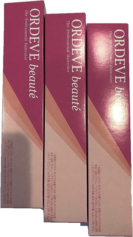 ORDEVE beaute(オルディーブ ボーテ) ヘアカラー 第1剤 b6-coEG 80g×3本