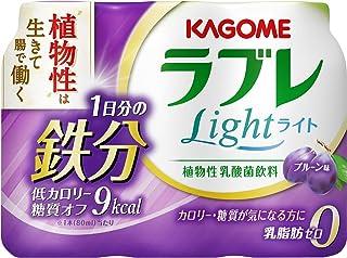 [冷蔵] カゴメ 植物性乳酸菌ラブレLight1日分の鉄分 80ml 3本